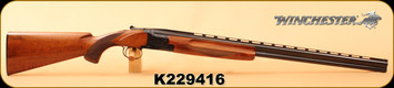 "Consign - Winchester - 28Ga/2.75""/28"" - Model 101 - O/U - Wd/Bl, Hand engraved steel receiver, Improved/Modified"