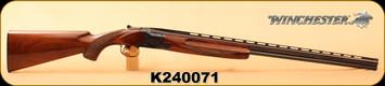 """Consign - Winchester - 410Ga/2.5""""/28"""" - Model 101 - O/U - Wd/Bl, Hand engraved steel receiver, Skeet 1/Skeet 2"""