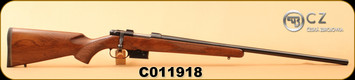 "Used - CZ - 223Rem - Model 527 Varmint - American-style Walnut Stock/Blued, 26""Barrel, Integrated scope mounts, detachable 5rd box magazine, 1:9"""