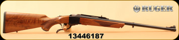"Ruger - 35Whelen - No. 1S Medium Sporter - American Walnut/Blued, 24""Barrel,Alexander Henry Forearm, Mfg# 21302, S/N 13446187"