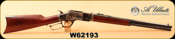 "Consign - Uberti - 45Colt - Model 1873 Short Rifle - Lever Action - A Grade Walnut/Case Hardened Frame, Buttplate & Lever/Blued, 20"" Octagonal Barrel, Mfg# 342810, S/N W62193 - New in box"