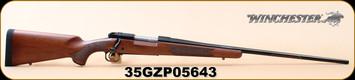 "Winchester - 7mmRemMag - 70 Sporter - Bolt Action Rifle - Walnut/Brushed Polished Finish, 26"" Barrel, 5 Rounds Mfg# 535202230, S/N 35GZP05643"