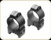 """Nikon - S-Series - 1"""" -  High Scope Rings - Steel Matte - 16157"""
