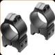 Nikon - S-Series - 30mm - High Scope Rings - Steel Matte - 16178