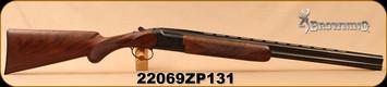 "Browning - 16Ga/2.75""/26"" - Citori Gran Lightning - Lightning-style Grade V/VI satin finish walnut stock/high relief engraved receiver/Polished Blued, Ivory front bead sight"
