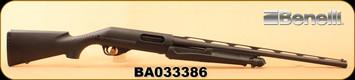 "Consign - Benelli - 20Ga/3""/24"" - Nova - Pump Action - Black Synthetic/Blued"