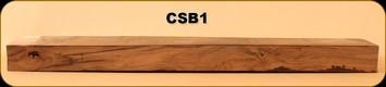 "Consign - Stock Blank - Walnut - 35.5""x 5 3/8""x 2.5"""