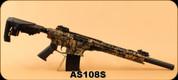"Derya - 12Ga/3""/20"" - MK-12 AS-108S - Semi-Auto Shotgun - Camo/Black Cerakote, Polymer buttstock/forehand, AR Flip Up Sights, Barrel Shroud, 3 Mobile Choke"