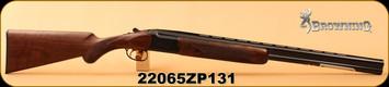 "Browning - 16Ga/2.75""/26"" - Citori Gran Lightning - Lightning-style Grade V/VI satin finish walnut stock/high relief engraved receiver/Polished Blued, Ivory front bead sight, S/N 22065ZP131"