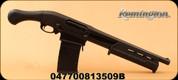 """Remington - 12Ga/3""""/18.5"""" - Model 870 Express Tactical - Pump Action - Black Synthetic/Blued, Pistol Grip Stock, 6rd Detachable Box Magazine, c/w Allen soft case"""