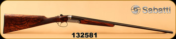 """Used - Sabatti - 410Ga/3""""/26"""" - Mini Ranger - SxS - Straight English Stock/Silver Engraved Receiver/Blued, Full/Mod - Only 10 rounds fired - In original box"""