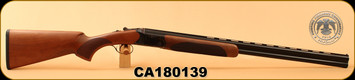 "Huglu - 103D - 20Ga/3""/28"" - 103D - O/U - Turkish Walnut/Case Hardened/Blued, Mobile Choke, S/N CA180139"