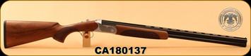 "Huglu - 20Ga/3""/28"" - 103D - O/U - Turkish Walnut/Engraved Silver Receiver/Blued, Mobile Choke, SKU# 8681715390307, S/N CA180137"