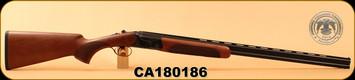 "Huglu - 410Ga/3""/28"" - 103D - O/U - Turkish Walnut/Case Hardened Receiver/Blued, SKU# 8681715390383, S/N CA180186"