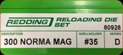 Redding - Full Length Sets - 300 Norma Mag - 80928