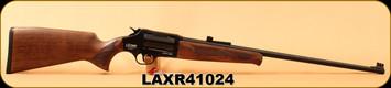 "Lazer - 410Ga/3""/24"" - XR410 - Revolver Shotgun - Black Walnut/Blued, Gas Deflection Shield, Fire Blade front sight, Adjustable rear sight, 5pc. Choke, soft case"