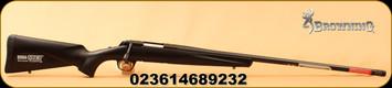 """Browning - 22-250Rem - X-Bolt Stalker Long Range - Black Composite w/Dura-Touch Armor Coating/Matte Blued, 26""""Heavy Sporter Barrel, Adjustable Feather Trigger, Mfg# 035390209"""