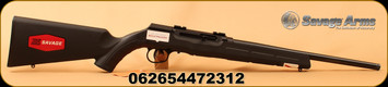 "Savage -22LR - A22 - Rimfire Semi-Auto Rifle - Black Synthetic/Blued, 16.5"", 10round Detachable Rotary Mag, c/w 25round Butler Creek Detachable Mag"