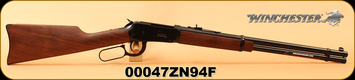 """Winchester - 30-30Win - Model 94 Carbine - Lever Action Rifle - Grade I Walnut Stock/Blued Finish, 20"""" Barrel, 7 Rounds, Mfg# 534199114, S/N 00047ZN94F"""