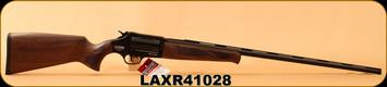 "Lazer - 410Ga/3""/28"" - XR410 - Revolver Shotgun - Black Walnut/Blued, Gas Deflection Shield, Fire Blade front sight, Adjustable rear sight, 5pc. Choke, soft case"