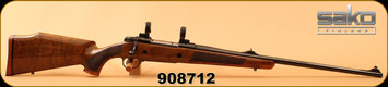 "Consign - Sako - 375H&Hmag - L681 Finnbear Deluxe - High Gloss WalnutMonte Carlo Stock/Blued, 24.4""Barrel, Monte CarloSako Optilock 30mm Rings & Bases - Very low rounds"