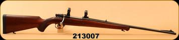 "Consign - Husqvarna - 30-06Sprg - 1600 Lightweight - Original wood stock/Gloss Blued, 24""Barrel, Glass bedded, Pachmayer Decelerator Recoil Pad, 1""Rings"
