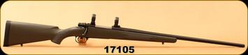 "Consign - Husqvarna - 30-06Custom - 1600 Mauser Action  - McMillan Green Fiberglass Stock/Ted Gaillard Custom Stainless Barrel, Black Cerakote, 25""Barrel, Glass bedded, Timney Adjustable Trigger, Pachmayer Decelerator Recoil Pad, 1""Rings"