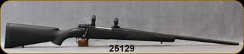 "Consign - Husqvarna - 6.5x55Custom - 1600 Mauser Action  - McMillan Black Fiberglass Stock/Ted Gaillard Custom Stainless Barrel, Black Cerakote, 24.5""Barrel, Glass bedded, Timney Adjustable Trigger, Pachmayer Decelerator Recoil Pad, 1""Rings"