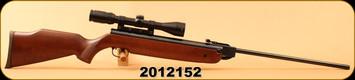 "Consign - Wiehrauch - .177/4.5mm - HW 80 - Air Rifle - Monte Carlo Beech stock/Blued, 19 5/8""Barrel, Rekord trigger, Bushnell Elite 3-9X40 Matte Black, Duplex reticle, Rainguard Coating - Less than 50 rounds"