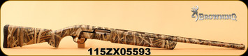 """Consign - Browning - 12Ga/3""""/28"""" - Maxus - Semi Automatic - Synthetic Stock/Mossy Oak Shadow Grass Blades, 4 Rounds, Mfg# 011645304 - In original box"""