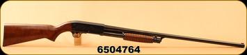 "Consign - Ithaca - 12Ga/3""/30"" - Model 37 Featherlight - Pump Action - Walnut/Blued"