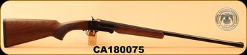 "Used - Huglu - 20Ga/3""/26"" - 301A - Turkish Walnut/Blued/Case Hardened Receiver, Single Trigger, 5pc. Mobile Choke - Less than 20 rounds"