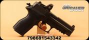 Sig Sauer - 45 ACP - P227 - Black Alloy, 4.4in Barrel, Siglite Romeo Mini Reflex Sight, 10rd, Mfg# 227R-45-BSS-RX
