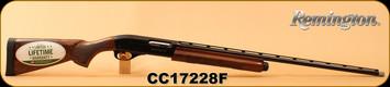 """Remington 28Ga/2.75""""/27"""" - 1100 Sporting - Semi Auto - Gloss Walnut/Blued, 4 Rounds, Vent Rib Barrel, Mfg# 29583, S/N CC17228F"""