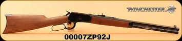 "Winchester - 45LC - Model 1892 Short - Lever Action Rifle - Grade I Black Walnut Stock/Blued, 20"" Barrel, 10 Rounds, Mfg# 534162141, S/N 00007ZP92J"