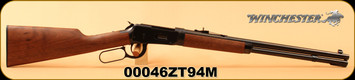 """Winchester - 30-30Win - Model 1894 Trails End Takedown - Lever Action Rifle - Grade I Black Walnut/Blued, 20"""" Barrel, Marble Arms front sight , Mfg# 534191114, S/N 00046ZT94M"""