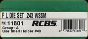 RCBS - Full Length Dies - 243 WSSM - 11601