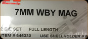 Hornady - Full Length Dies - 7mm Wby Mag - 546330