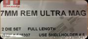 Hornady - Full Length Dies - 7mm Rem Ultra Mag - 546307