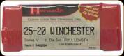 Hornady - Full Length Dies - 25-20 Winchester -546264