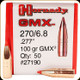 Hornady - 270/6.8 - 100 Gr - GMX - BT Lead Free - 50Ct - 27190