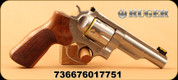 "Ruger - 10mmAuto - GP100 Match Champion - Revolver - Hogue Stippled Hardwood/Stainless, Half-Lug 4.2""Barrel, Mfg# 1775"