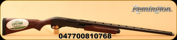 "Remington - 12Ga/3""/28"" - 870 Sportsmans Field - Pump Action - Hardwood Stock w/Fleur di lis/Matte Blued, Vent Rib Barrel, 4 Rounds, Mfg# 81076"