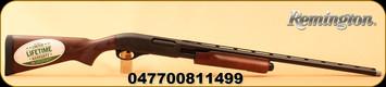 "Remington - 20Ga/3""/26"" - 870 Sportsmans Field - Pump Action - Harwood Stock w/Fleur di lis/Matte Blued, Vent Rib Barrel, 4 Rounds, Mfg# 81149"