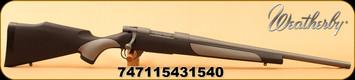 Weatherby - 6.5Creedmoor - Vanguard Weatherguard H-Bar - Composite Griptonite stock/Tactical Grey Cerakote, 20-inch #3 contour, threaded heavy barrel w/.740 muzzle diameter, Mfg# VTT65CMR0T