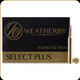 Weatherby - 6.5-300 Wby Mag - 140 Gr - Select Plus - Swift A-Frame - 20ct - F653140AF