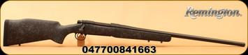 "Remington - 30-06Sprg - Model 700 Long Range - Bolt Action Rifle - Bell And Carlson M40 Tactical Synthetic Stock/Matte Black, 26"" Heavy Varmint Barrel, 4 Rounds, X-Mark Pro Externally Adjustable Trigger, Mfg# 84166"