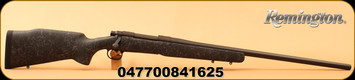 "Remington - 25-06Rem - Model 700 Long Range - Bolt Action Rifle - Bell And Carlson M40 Tactical Synthetic Stock/Matte Black, 26"" Heavy Varmint Barrel, 4 Rounds, X-Mark Pro Externally Adjustable Trigger, Mfg# 84162"
