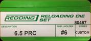 Redding - Full Length Sets - 6.5 PRC - 80487