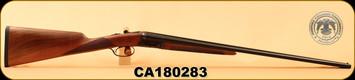 "Huglu - 410Ga/3""/26"" - 202B - SxS - Double Trigger - Turkish Walnut/Case Hardened Receiver/Trigger Guard/Blued Barrel, SKU# 8681715394770, S/N CA180283"